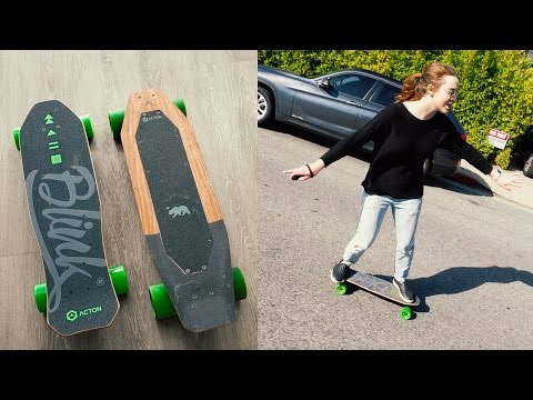 Acton Electric Skateboard Comparison | Blink LITE VS Blink S – unboxing & review