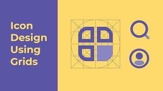 Icon Design Using Grids - Adobe Illustrator
