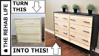 IKEA HACK: Modern Dresser