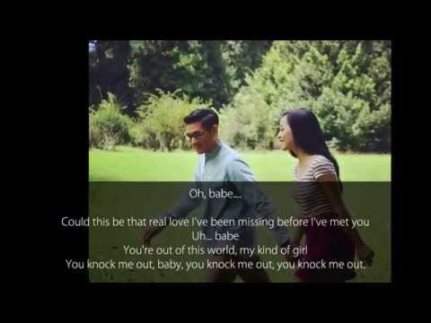 Afgan - Knock Me Out (Video Lyrics) - Ines Sela Melia
