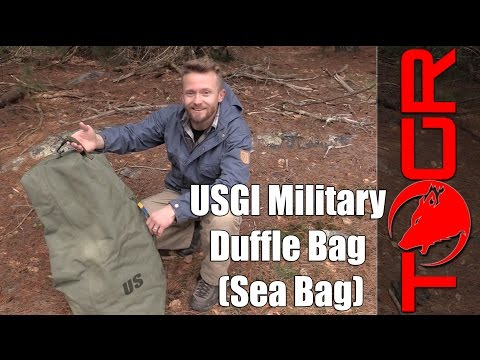 Large and Inexpensive! - USGI Military Duffle Bag (Sea Bag)