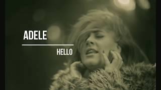 Adele Hello ∣ Türkçe Ve İngilizce Sözleri ( Lyrics ) -  Turkish And English Subtitle