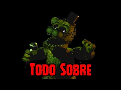 Todo sobre Phantom Freddy De Five Nights At Freddy's 3 | FNAf 3
