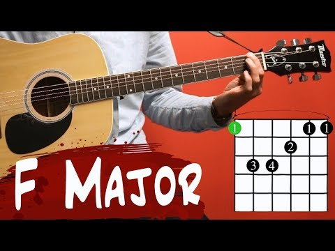 Guitar Lessons for Beginners | F Major Chord