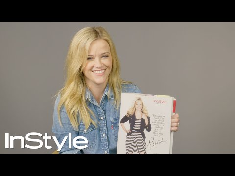 Reese Witherspoon Looks Back At Her Past InStyle Covers | 25th Anniversary | InStyle