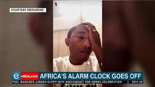 Pharrell Gets A Good Old Hadeda Wake Up Call In South Africa!