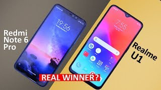 Realme U1 Vs Redmi Note 6 Pro Full Comparison Real Winner ?? | Best Smartphone under 15k