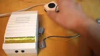 Звонок электрический ТРЕЛЬ Люкс птичья трель от компании ParkSveta - видео