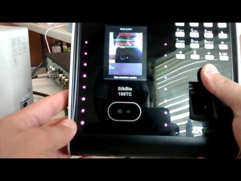 Agregar usuario y acceso combinado Silkbio100TC