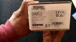 Shure Sm58 Sennheiser E835 Desempaquetado Y Como Saber Si Son Originales