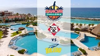 2016 Cancun Challenge WBB | Davidson vs. Toledo (No Audio)