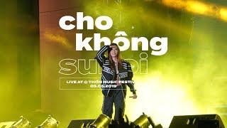 (Fancam) Suboi   Cho Không (Live) @ Thơm Music Festival 2019   By Flashing Signs