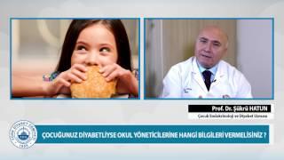 Çocuğunuz okulda insülin yapmaya çekiniyorsa…