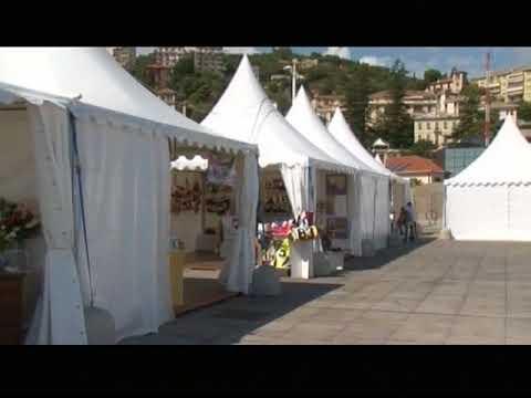 AL RADUNO DI VELE D' EPOCA GLI STAND DI EXPO
