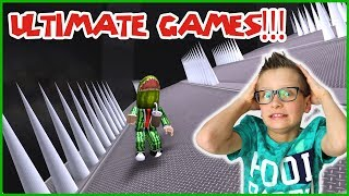 THE ULTIMATE MINIGAMES!!!