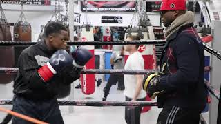 ROYAL STORM! ISAAC DOGBOE HITS THE PADS AHEAD OF WBO DEFENCE / DEC 8th @ MADISON SQUARE GARDEN