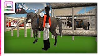 Horse Jumping Show 3D Android Gameplay (Horse Game)