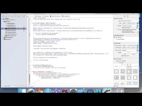 iOS Programming: Camera tutorial with Objective C and xcode 6