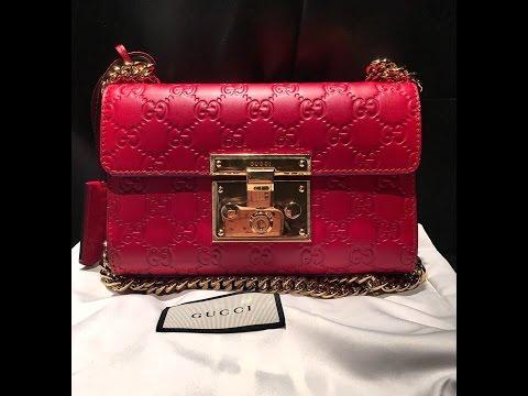 6ba5bd81598b What fits in my Gucci Padlock Mini Bag - Maple Tse