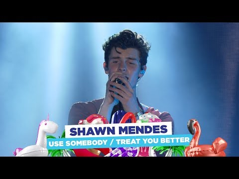 Shawn Mendes - 'Use Somebody / Treat You Better' (live at Capital's Summertime Ball 2018)