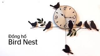 [Decox.vn] Đồng hồ Bird nest