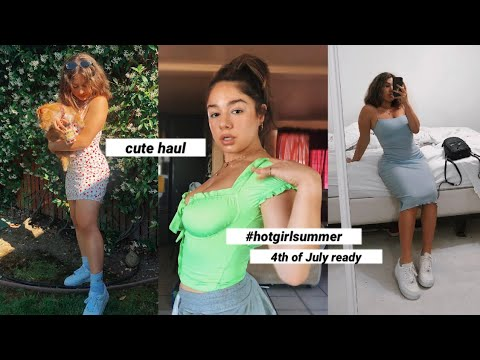 CUTE AF. summer TRY-ON HAUL feat. Princess Polly