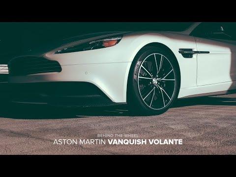 Behind The Wheel: 2014 Aston Martin Vanquish Volante