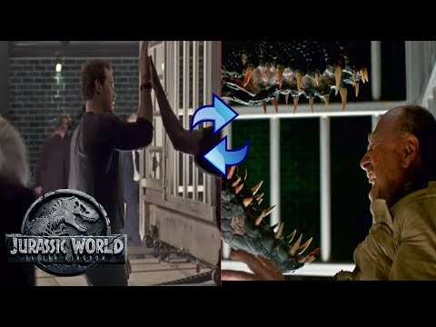 The Indoraptor's Cage? | Jurassic World Fallen Kingdom Theory