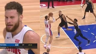 Blake Griffin Bullies Entire Magic Then Saves Pistons In Overtime! Pistons vs Magic