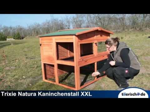 TRIXIE Kaninchenstall Natura XXL 62324 aufbauen