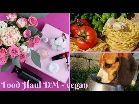 Food Haul - vegan - DM - Lebensmittel, Kosmetik, Hundefutter