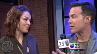 Erika de la Rosa y Angélica Castro en entrevista con Roger Borges - Univisión 23