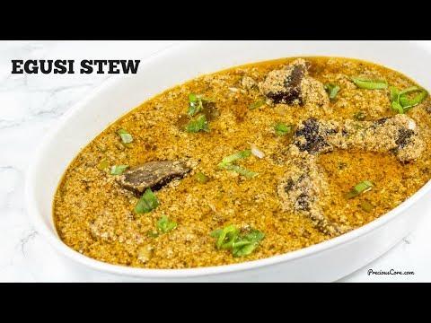 Egusi Stew - Precious Kitchen - Episode 54