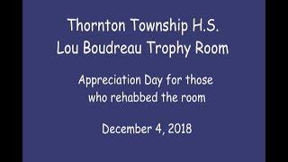 TTHS Lou Boudreau Trophy Room Appreciation Day_Dec. 4, 2018