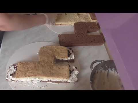 Рецепт торта 4-ка день рождения малышу