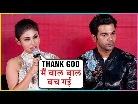 Mouni Roy FIRST Reaction On Her Car DAMAGE, Due To Mumbai Metro | Made In China Trailer Launch