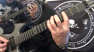 DISSECTION - At the Fathomless Depths guitar playthrough (guitar I & II)
