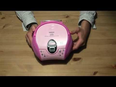 Kinder CD Player - Lenco SCD-24