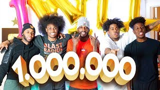 1 MILLION SUBSCRIBERS SPECIAL + GIVEAWAYS