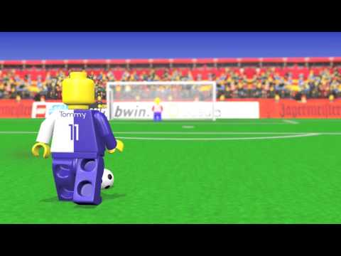 Lego Soccer Animation / Fußball Animation ( Blender )