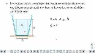 Eğitim Vadisi TYT Fizik 6.Föy Basınç 2 Konu Anlatım Videoları