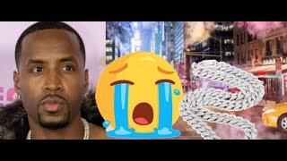 Safaree CRIES ON RADIO After Getting His Jewelry and Fur Coats Taken From Him on New York Streets