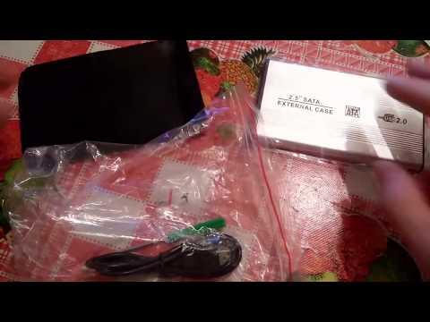 Корпус для внешнего жесткого диска от ноутбука с AliExpress