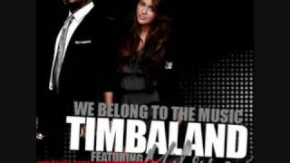 We Belong To The Music (Instrumental/Karaoke)-Timbaland ft. Miley Cyrus