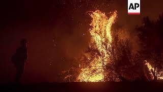 Officials Cite Progress Against Calif. Wildfire