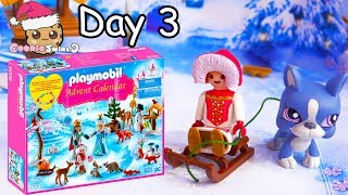 Playmobil Holiday Christmas Advent Calendar Day 3 Cookie Swirl C Toy Surprise Video
