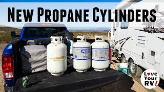 Why I Bought Two New 30 lb. Propane Cylinders