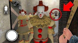 SCP 096 Containment BREACH in Granny Horror Game! (Granny