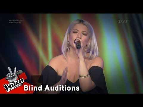 Ντόρις Θεοδωρίδη - Bad Romance | 8o Blind Audition | The Voice of Greece (видео)