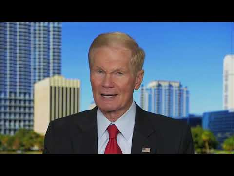 Democratic Sen. Bill Nelson has ended his bitterly close re-election bid on Sunday by conceding the race to Republican outgoing Governor Rick Scott. Official results submitted Sunday showed Nelson trailing by more than 10,000 votes. (Nov. 19)